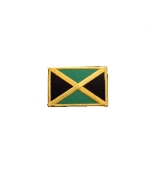 Jamaika Aufnäher Fahne