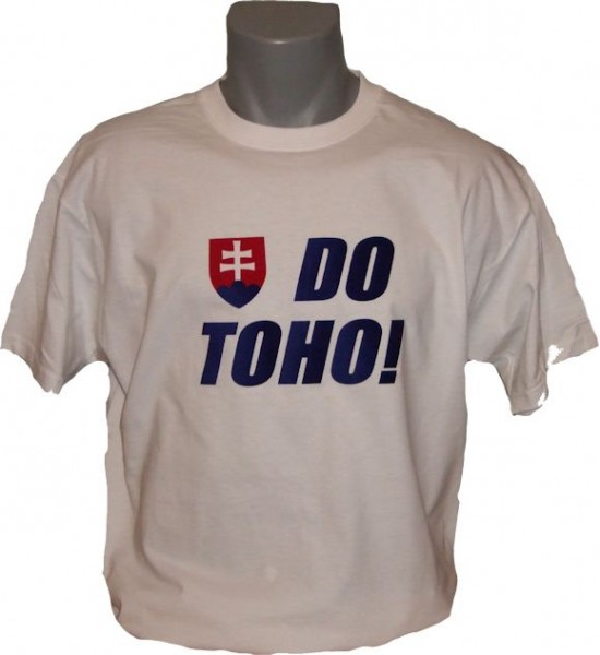 Slowakei T-Shirt Do Toho