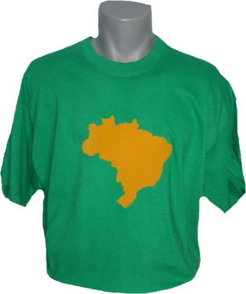 Brasilien T-Shirt Map