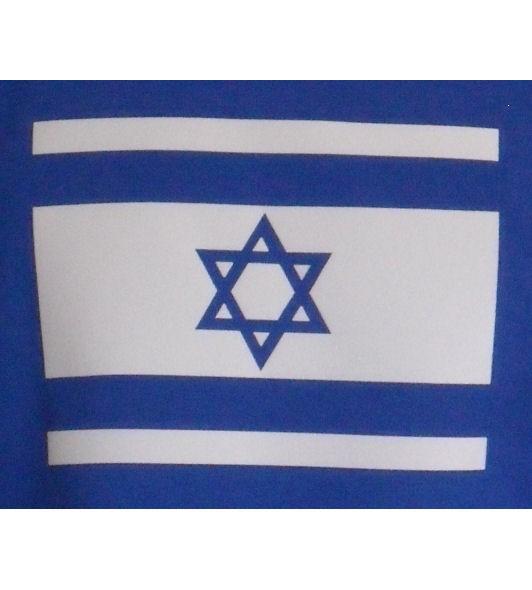 Israel Hoodie blau