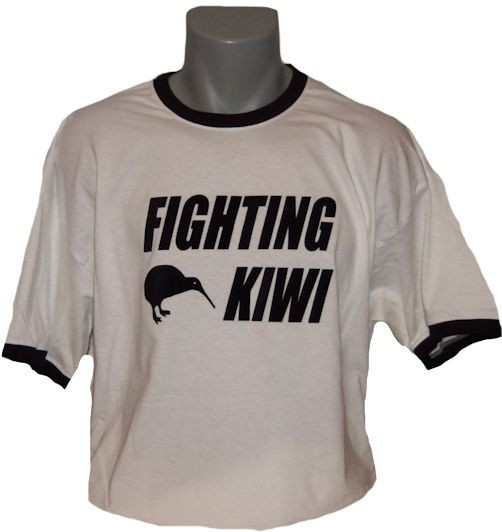 Neuseeland T-Shirt Fighting Kiwi