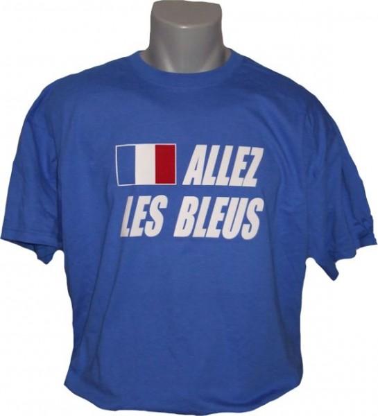 Frankreich T-Shirt Allez les Bleus