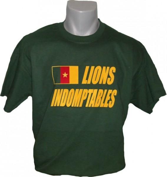 Kamerun T-Shirt Lions Indomptables