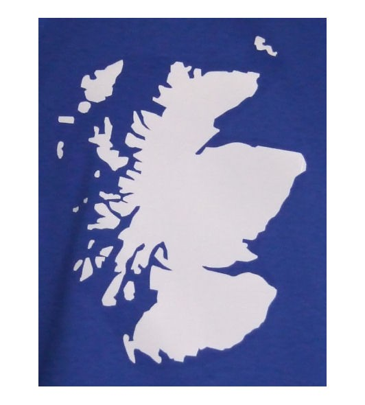 Schottland Sweatshirt Map