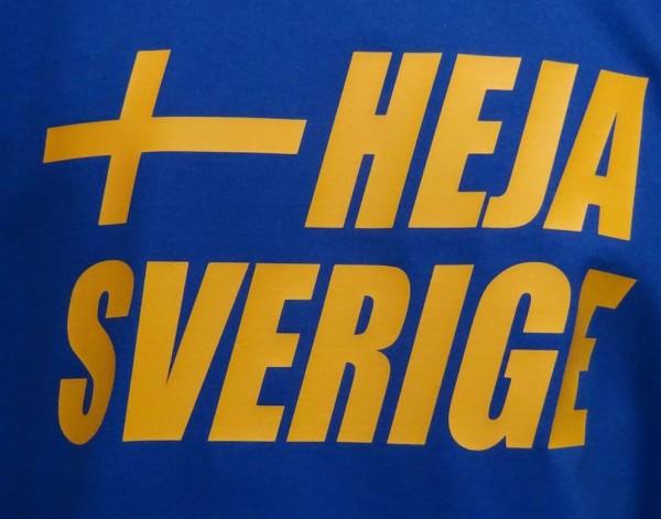 Schweden Sweatshirt Heja Sverige
