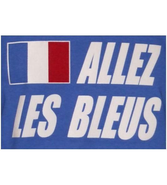 Frankreich Hoodie Allez les bleus