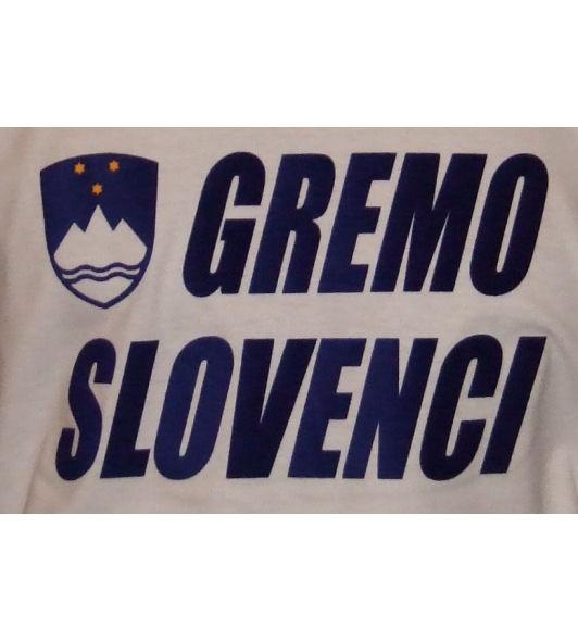 Slowenien Sweatshirt Gremo Slovenci