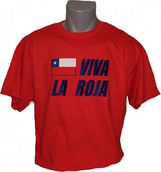 Chile T-Shirt Viva La Roja