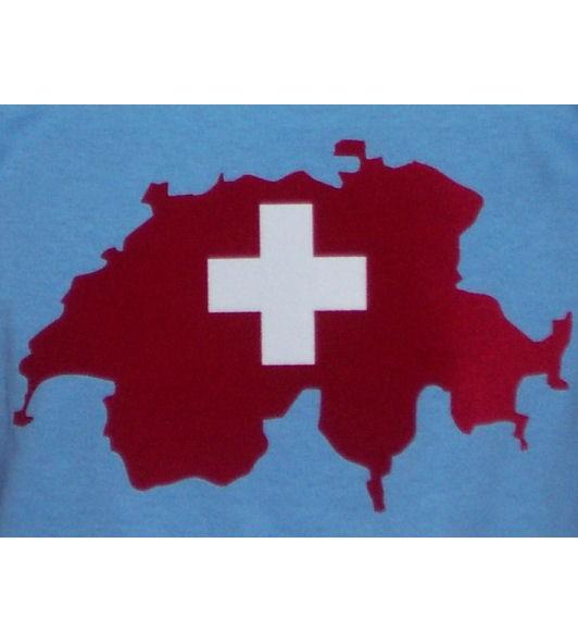 Schweiz Hoodie Map&Flag