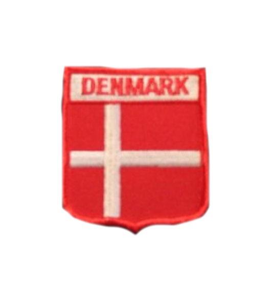 Dänemark Aufnäher Wappen