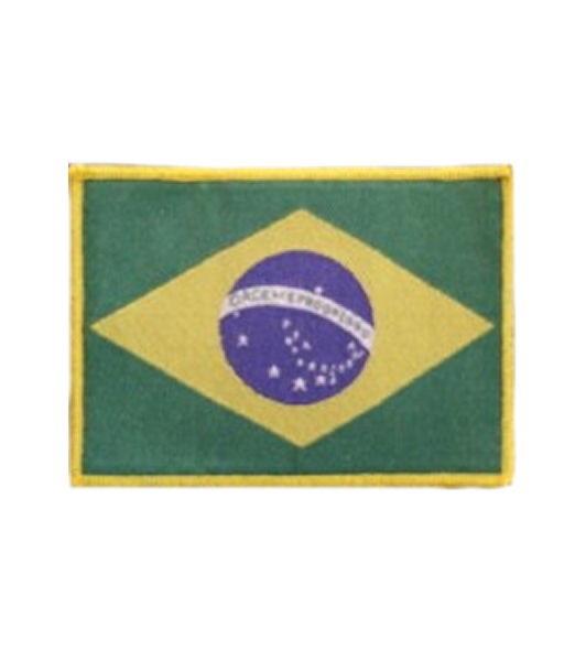 Brasilien Aufnäher