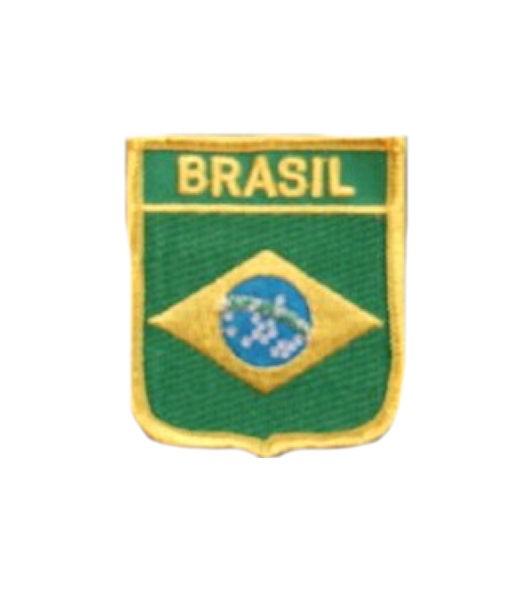 Brasilien Aufnäher Wappen