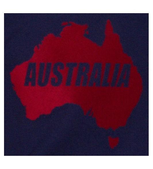 Australien Sweatshirt Map&Name