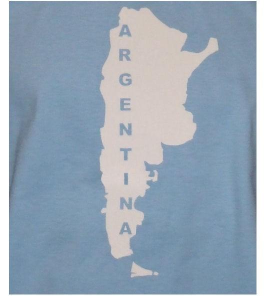 Argentinien Hoodie Map&Name