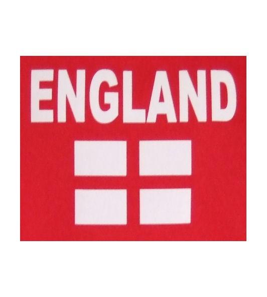 England T-Shirt N&F rot