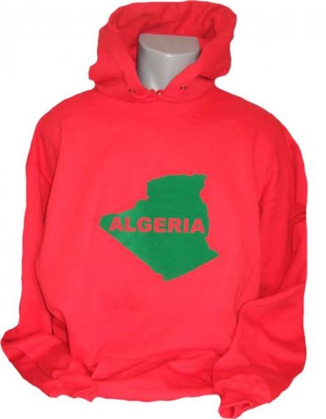 Algerien Hoodie Map&Name