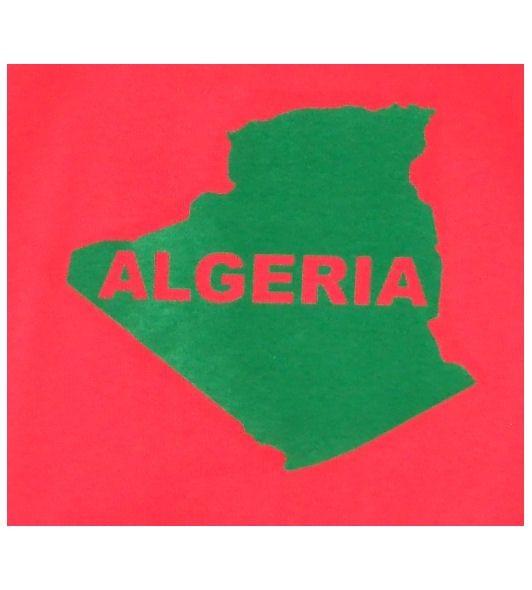 Algerien T-Shirt Map&Name