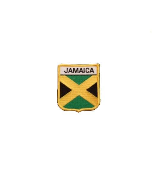 Jamaika Aufnäher Wappen