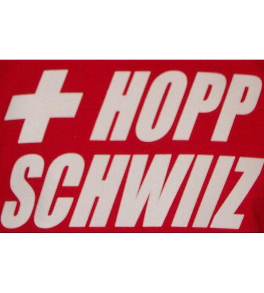 Schweiz Hoodie Hopp Schwiiz