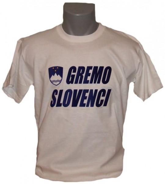 Slowenien T-Shirt Gremo Slovenci