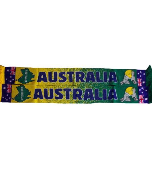 Australien Schal Boxing Kangaroo