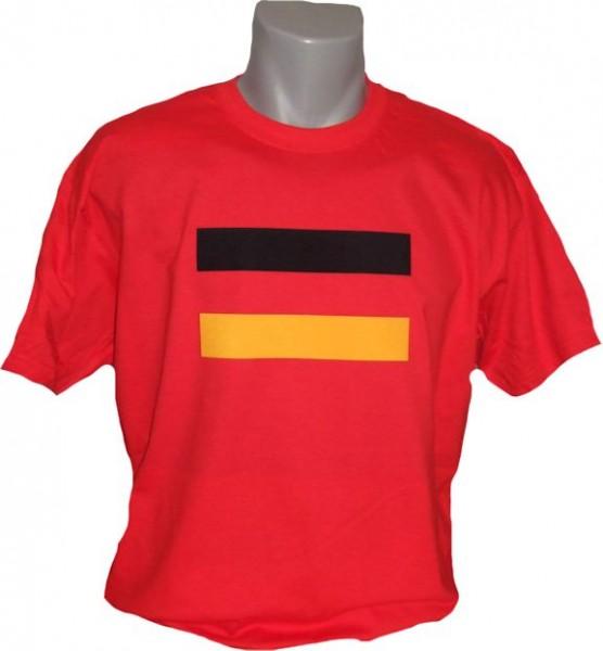 Deutschland T-Shirt Fahne
