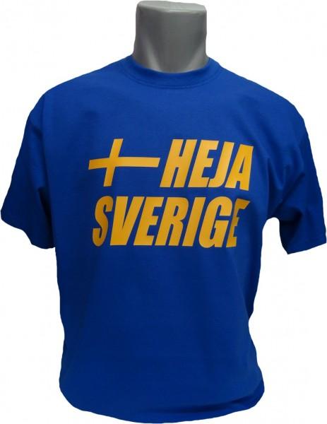 Schweden T-Shirt Heja Sverige