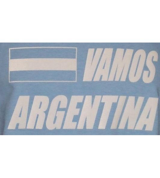 Argentinien Hoodie Vamos Argentina