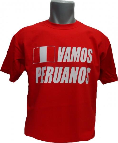 Peru T-Shirt Vamos Peruanos