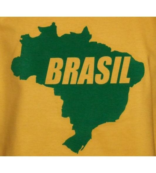 Brasilien Sweatshirt Map&Name