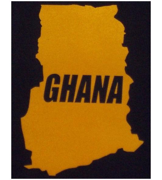 Ghana Sweatshirt Map&Name