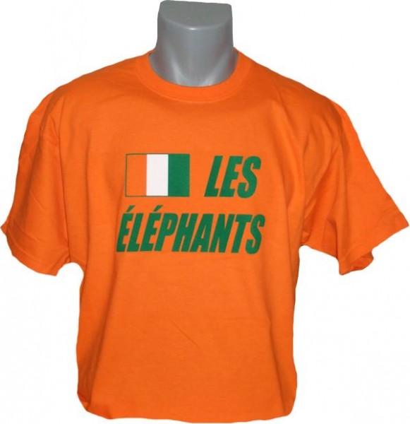 Elfenbeinküste T-Shirt Les Elephants