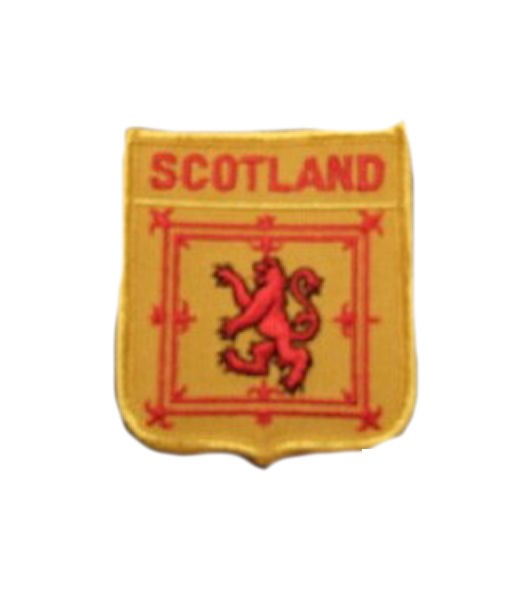 Schottland Aufnäher Wappen