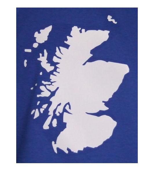 Schottland Hoodie Map