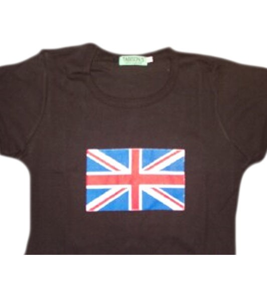 England Girly Shirt Union Jack