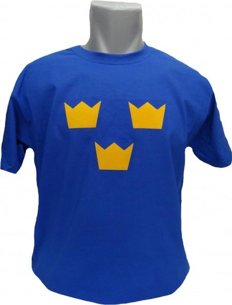 Schweden T-Shirt Tre Kronor