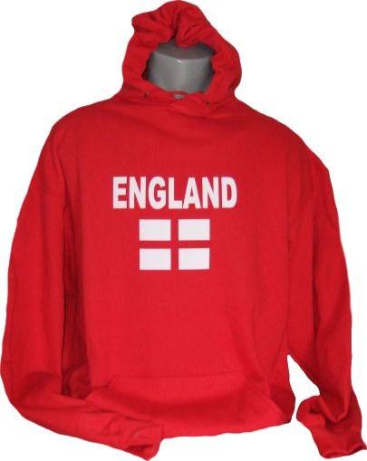 England Hoodie N&F rot