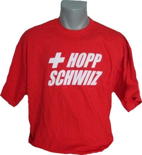 Schweiz T-Shirt Hopp Schwiiz