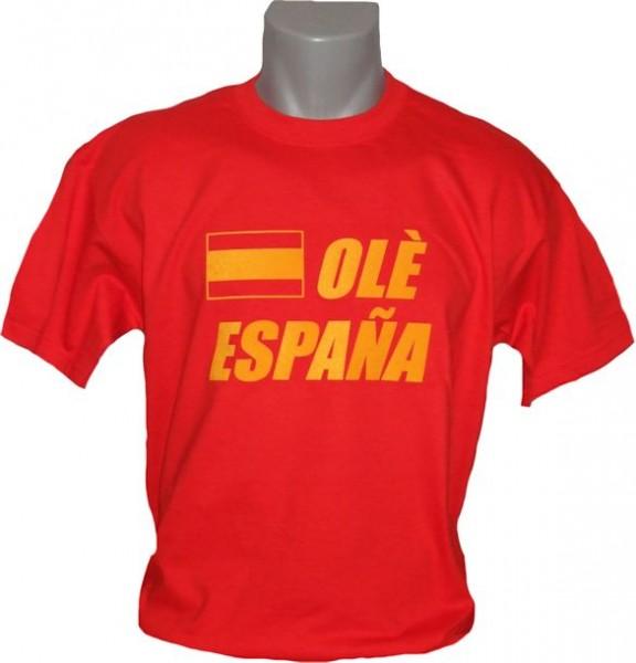 Spanien T-Shirt Ole Espana
