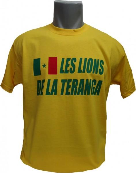 Senegal T-Shirt Les Lions De La Teranga