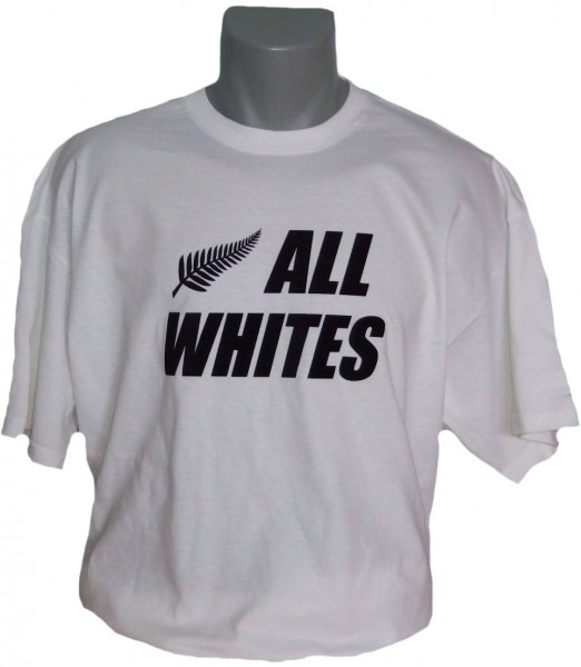 Neuseeland T-Shirt All Whites