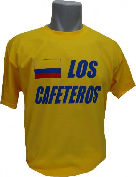 Kolumbien T-Shirt Los Cafeteros