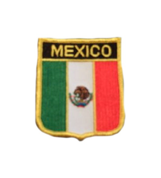 Mexiko Aufnäher Wappen
