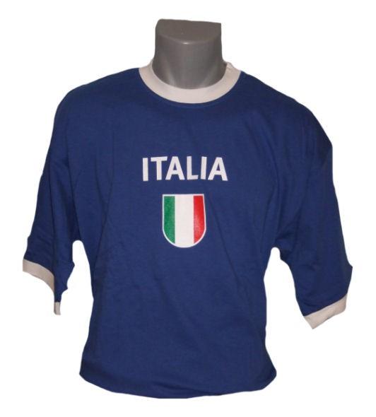 Italien T-Shirt Italia dunkel