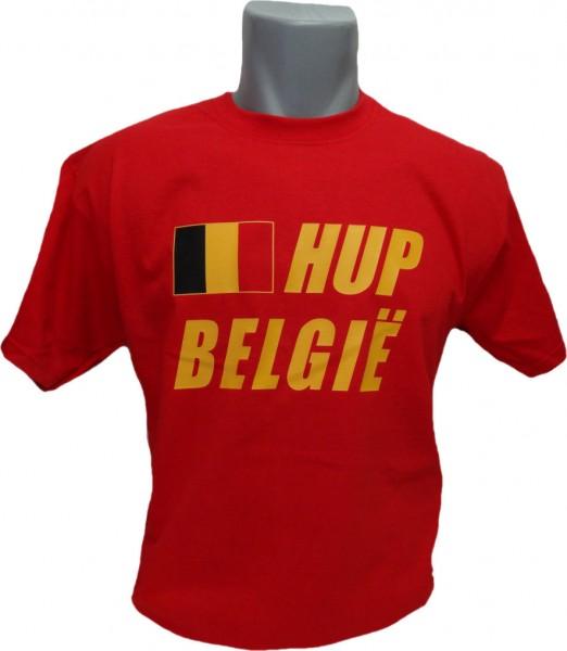 Belgien T-Shirt Hup Belgie