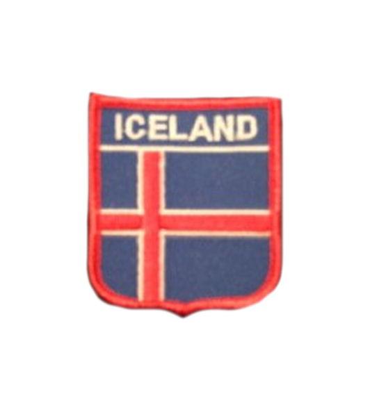 Island Aufnäher Wappen