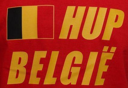 Belgien Sweatshirt Hup Belgie