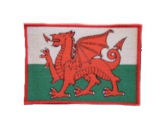 Wales Aufnäher