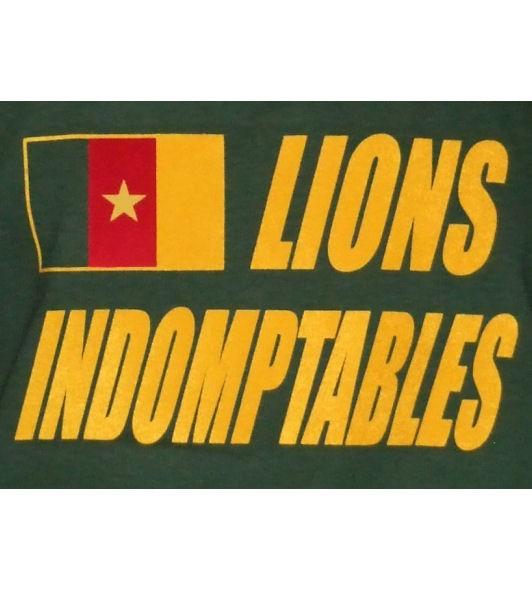 Kamerun Hoodie Lions Indomptables